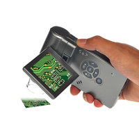 500X HD ручной электронный цифровой микроскоп с камерой видео измерения обслуживания промышленных USB портативный увеличительное стекло