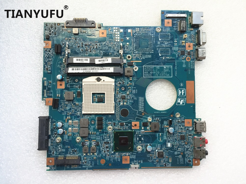 MBX 250 motherboard 48 4MP06 021 S0203 2 Z40HR HM65 DDR3 FOR SONY MBX 250 Laptop