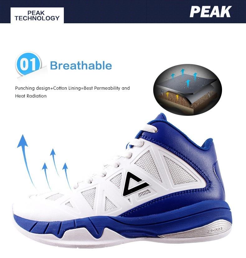3d3f119de3a PEAK SPORT VICTOR Men Basketball Shoes FOOTHOLD REVOLVE Tech Ankle ...