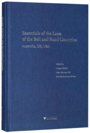 Essentials Of The Laws Of The Belt And Road Countries Australian UK USA Keep On Lifelong Learning As Long As You Live-117