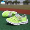 2017 verano 2-8 años niños niñas deportes shoes niños casual shoes shoes de malla transpirable niños zapatillas de deporte de marca de alta calidad