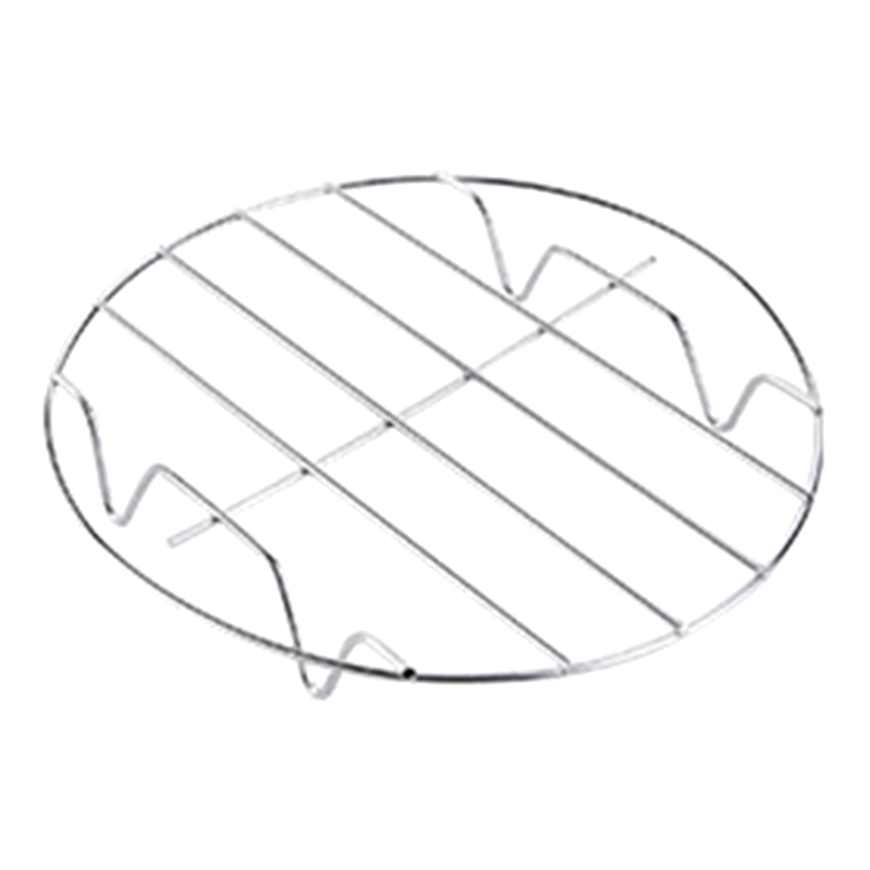 1 Pc Cooking Rack Round Stainless Steel Baking And Cooling Steaming Rack Wire Stand Cookware