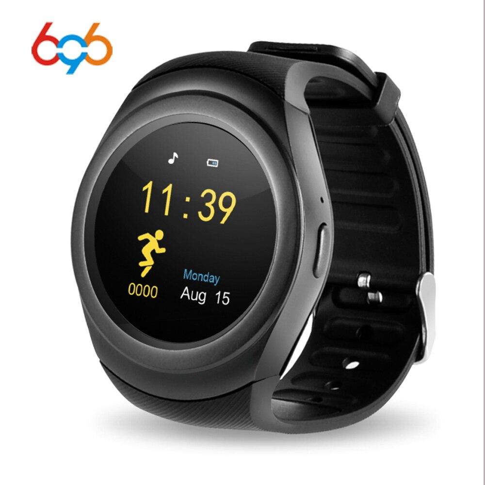 696 Y1 PRO Smart uhr Bluetooth Frauen Smart Band Sport Schrittzähler Informationen Display MP3 GSM Sim karte Remote Kamera für android