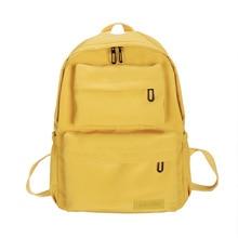 2019 New Waterproof Nylon Backpack For Women Student School Bags Teenagers Casual Multi Pocket Travel Backpacks