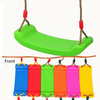 Home Children's Swing Seat Outdoor Children Rocking Chair Swing Hammock Strong Safety Anti slip Swing Colorful Recreation Fitnes