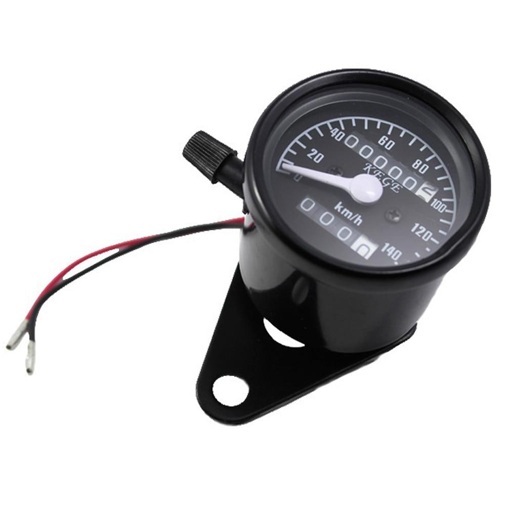 Black 12v Universal Motorcycle Scooter Speedometer Odometer Gauge 0-140 Km/h For Yamaha Raider S XV1900 V-Max VMX 1200