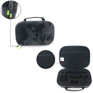 Image 2 - الأصلي يي كاميرا تخزين حقيبة مقاوم للماء التمويه إيفا حقيبة حافظة ل شاومي يي 4k/Gopro بطل 5 4/SJCAM SJ6 SJ7 اكسسوارات