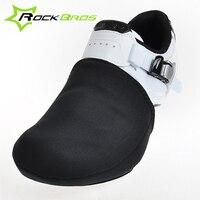 RockBros 1 Para Pokrywa Rower Jazda Na Rowerze Odkryty Sport Butów Palec U Nogi rower Cykl Protector Ciepłe Cieplej Boot Pokrywa Pasuje EUR 39-44/USA 7-10
