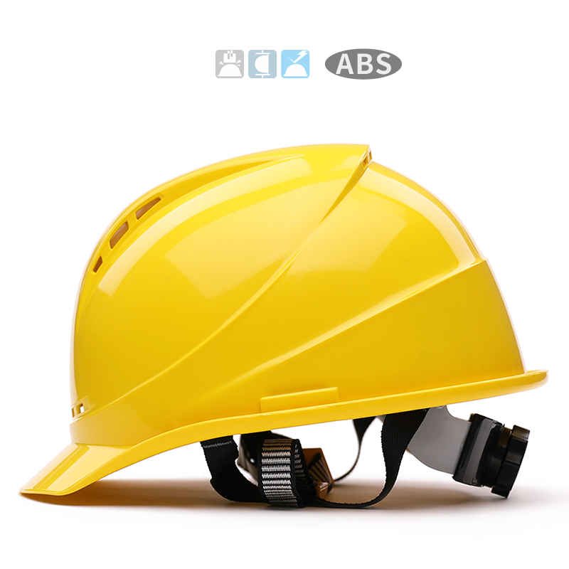 6 Colors Safety Helmet Work Cap High-strength ABS Material Engineering Helmets Hard Hat Site Construction Protective Hard Hat