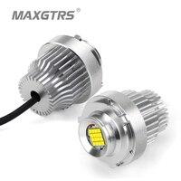 2x 80W LED Marker Angel Eye Halo Ring Bulb For BMW E60 E61 LCI 2008 2010 Year LED Trim White Canbus Error Free High Quality