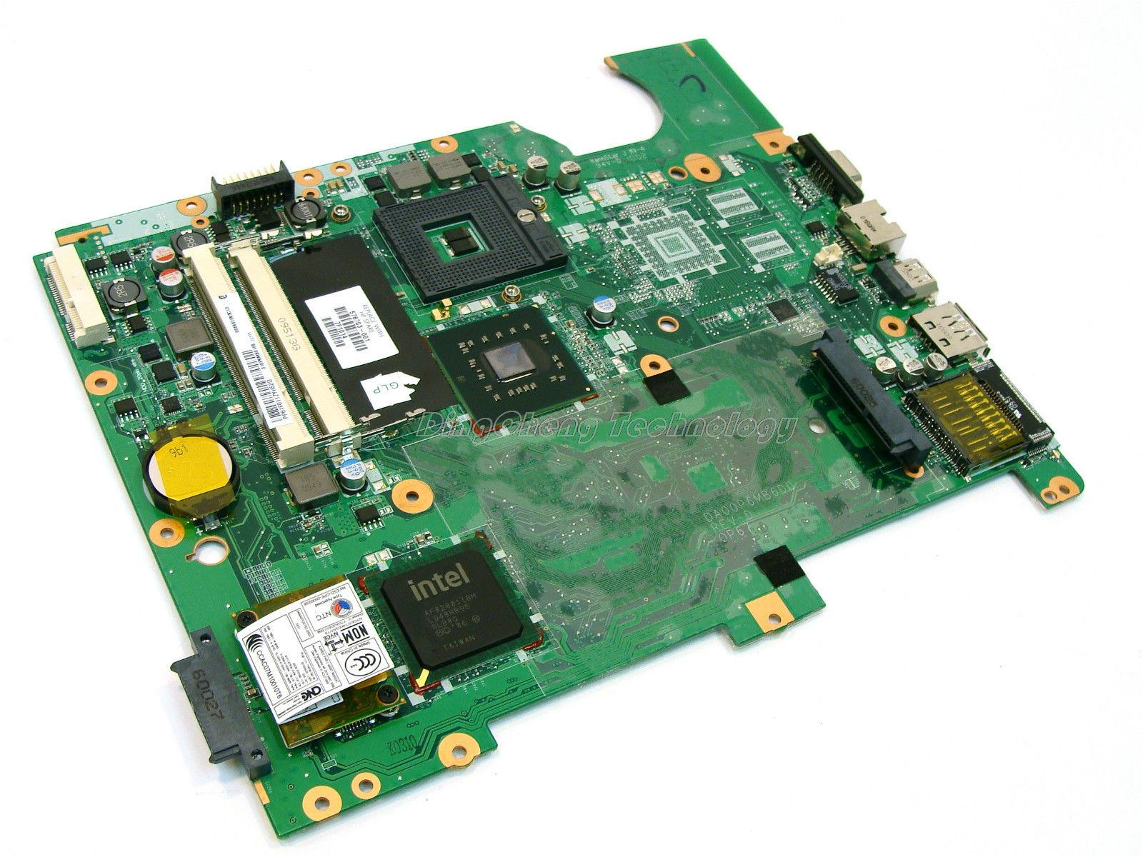 SHELI laptop Motherboard For hp CQ71 G71 578701-001 DA00P6MB6D0 GM45 DDR2 integrated graphics card 100% tested fully