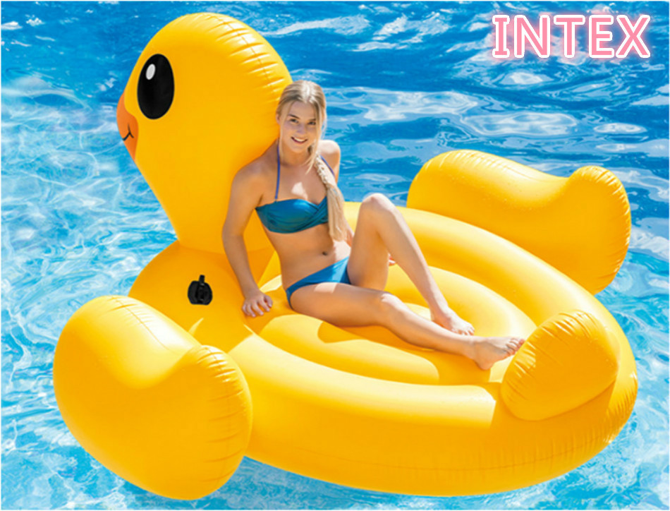 221Cm Giant Pool Floats Couples Adults Inflatable Beach Yellow Rubber Duck Bath Swim Pool Toy Big Inflatable Water Air Mattress 6 5ft diameter inflatable beach ball helium balloon for advertisement