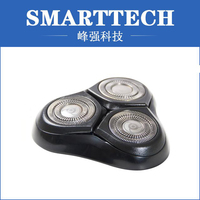 New products plastic injection molding head and cutter part for rotary shavers