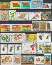 500 pcs 많은 좋은 조건 우표 컬렉션에 사용되는 포스트 마크 우표 우편 많은 국가에서 컬렉션