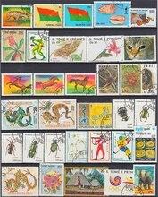 Timbres postaux Collection, timbres postaux, bon état, pour de nombreux pays, avec marquage Postal, Lot de 500 pièces