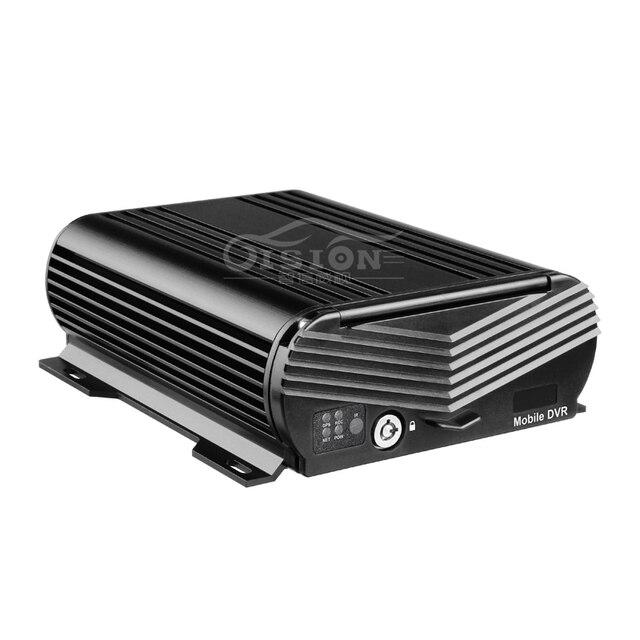 Free DHL/EMS New Car DVR 4CH Hard Disk Mobile DVR,GPS Vehicle DVR, ,I/O Alarm,AHD 1080P HDD Video Mdvr Black Box