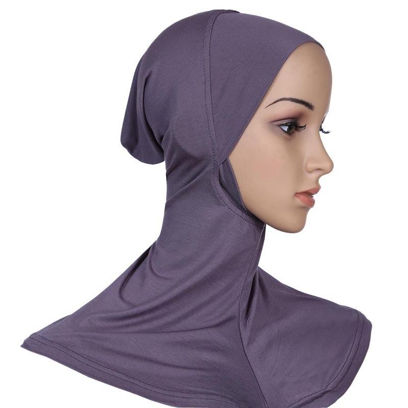 868f538eae0 Modal Muslim Women Hijab Cap Cover Islamic Headscarves Turkish Scarf Muslim  Head Cap Islamic Headscarf Close To The Chin-in Islamic Clothing from  Novelty ...