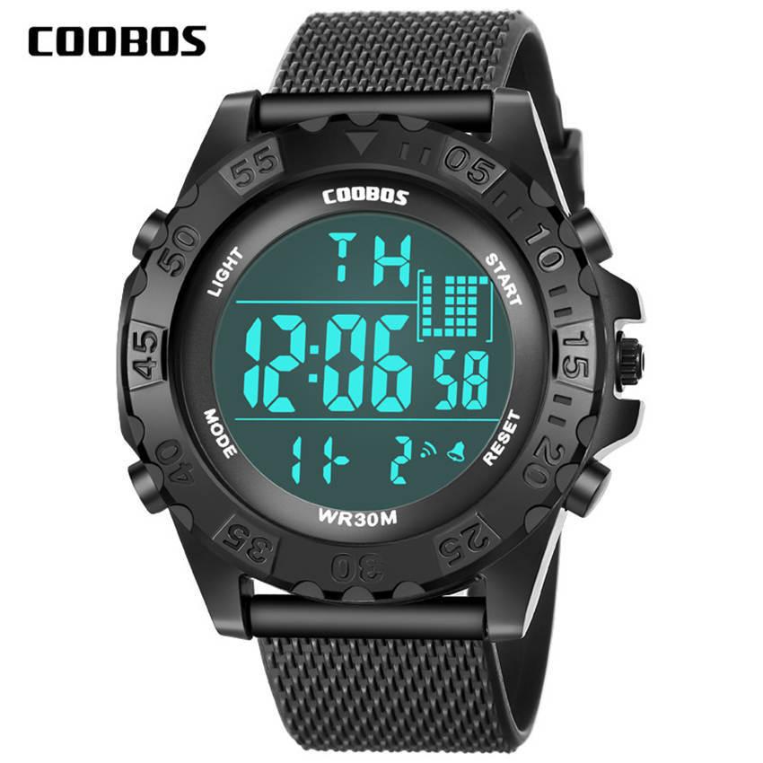 For 13-18 Years Student Sports Big Watch Men Waterproof Clock Children Military Children's Wrist Watches Alarm Clock Luminous