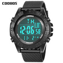For 13-18 years Student Sports Big Watch Men Waterproof Cloc