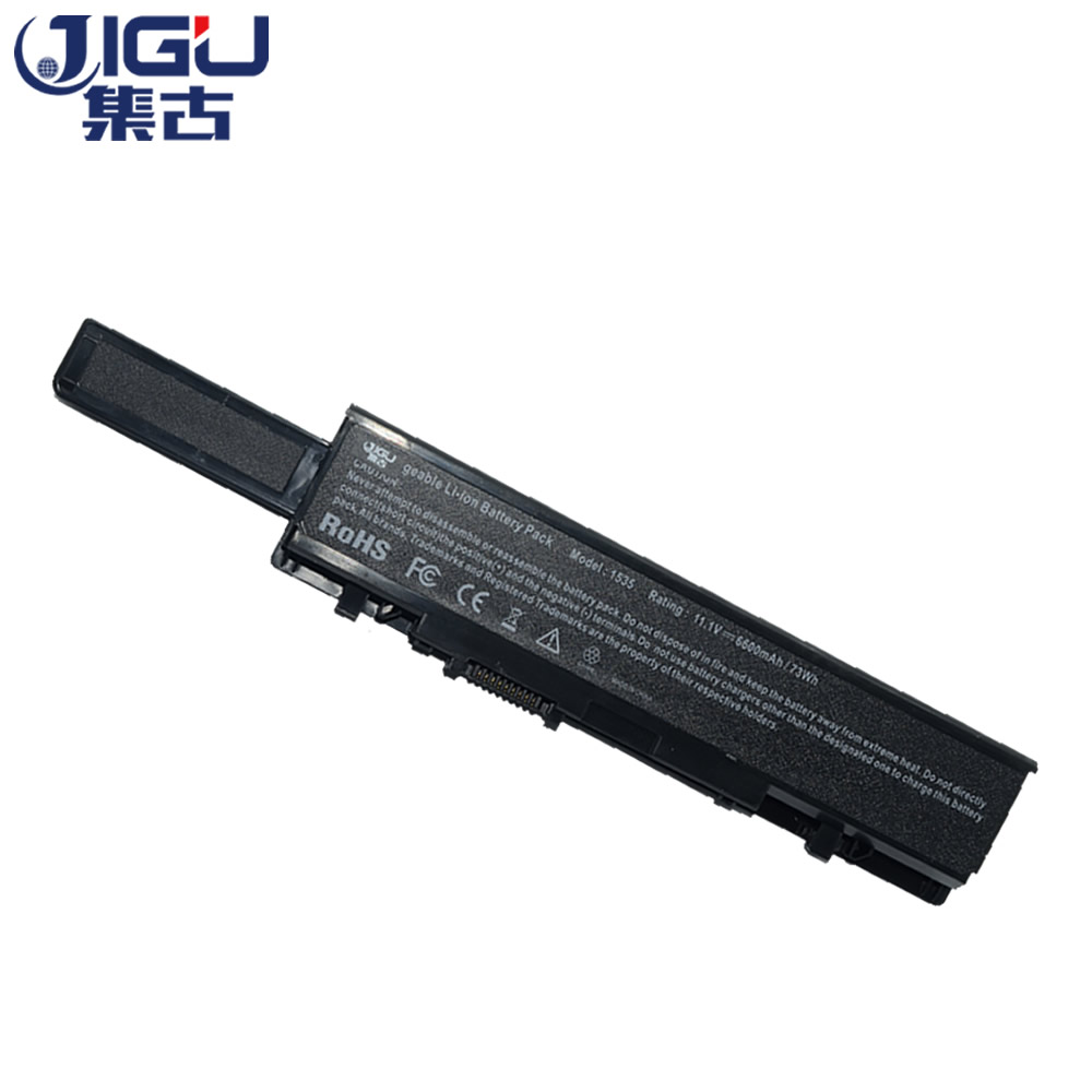 JIGU 9 Cells Laptop Battery WU946 MT264 KM965 312-0702 KM958 For Dell Studio 1535 1536 1537 1555 1557 1558 все цены