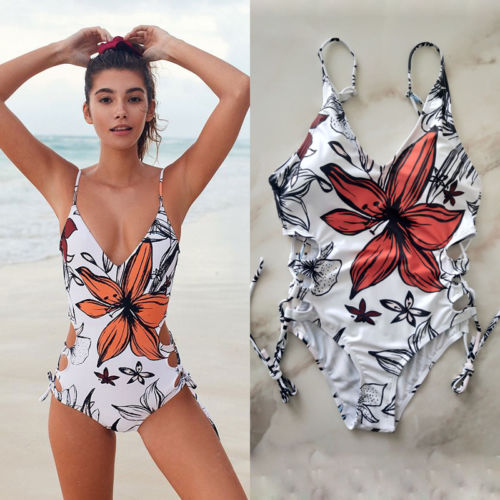 Sexy New Women push up One-Piece Swimsuit Beachwear Swimwear monokini bikini Bathing ruuhee sexy halter one piece swimsuit swimwear bodysuit women push up bathing suit monokini maillot de bain femme bikini set