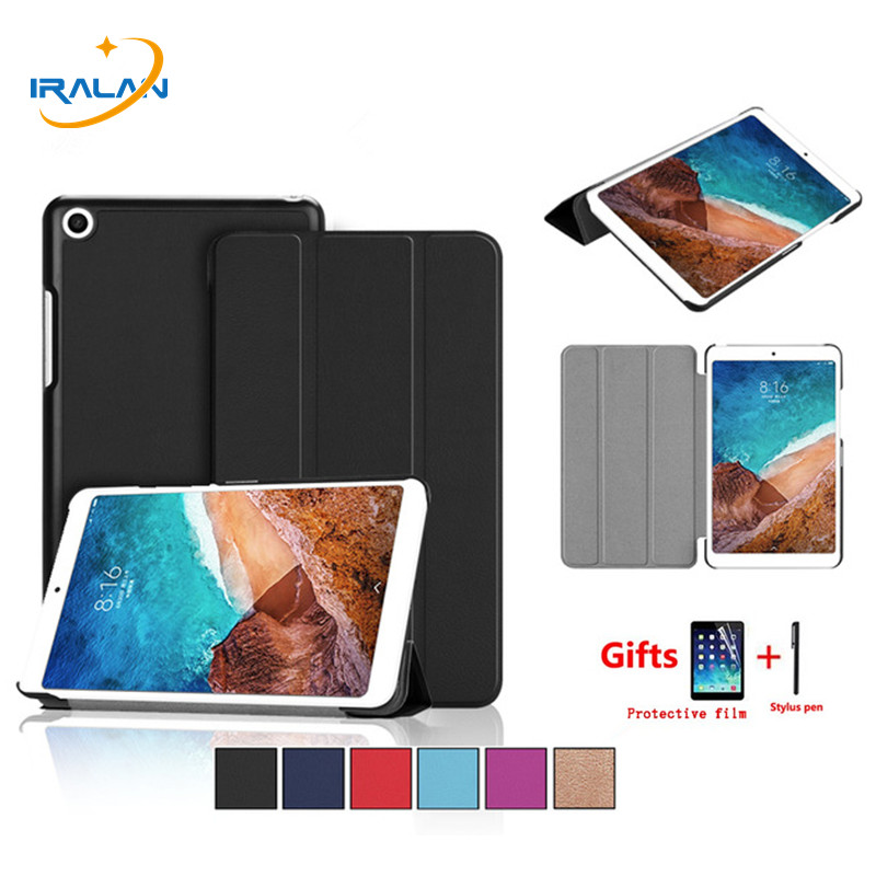 2018 Newest Tablet Cover Case For Xiaomi Mipad 4 Plus Mi Pad 4 plus 10.1 inch Magnetic Stand Smart skin shell+screen film+stylus цена 2017