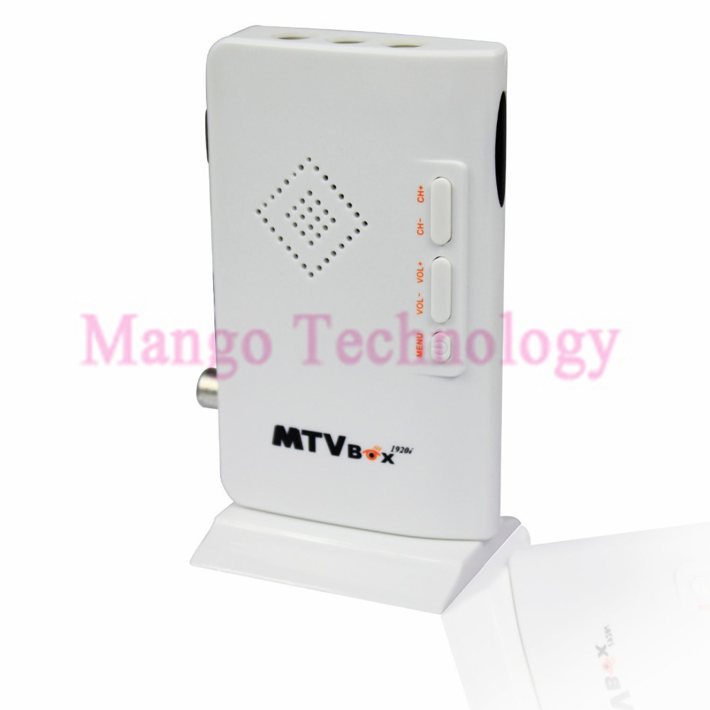 2016 TV Tuner MTV Box External HD LCD CRT VGA External PC BOX Receiver Tuner HD