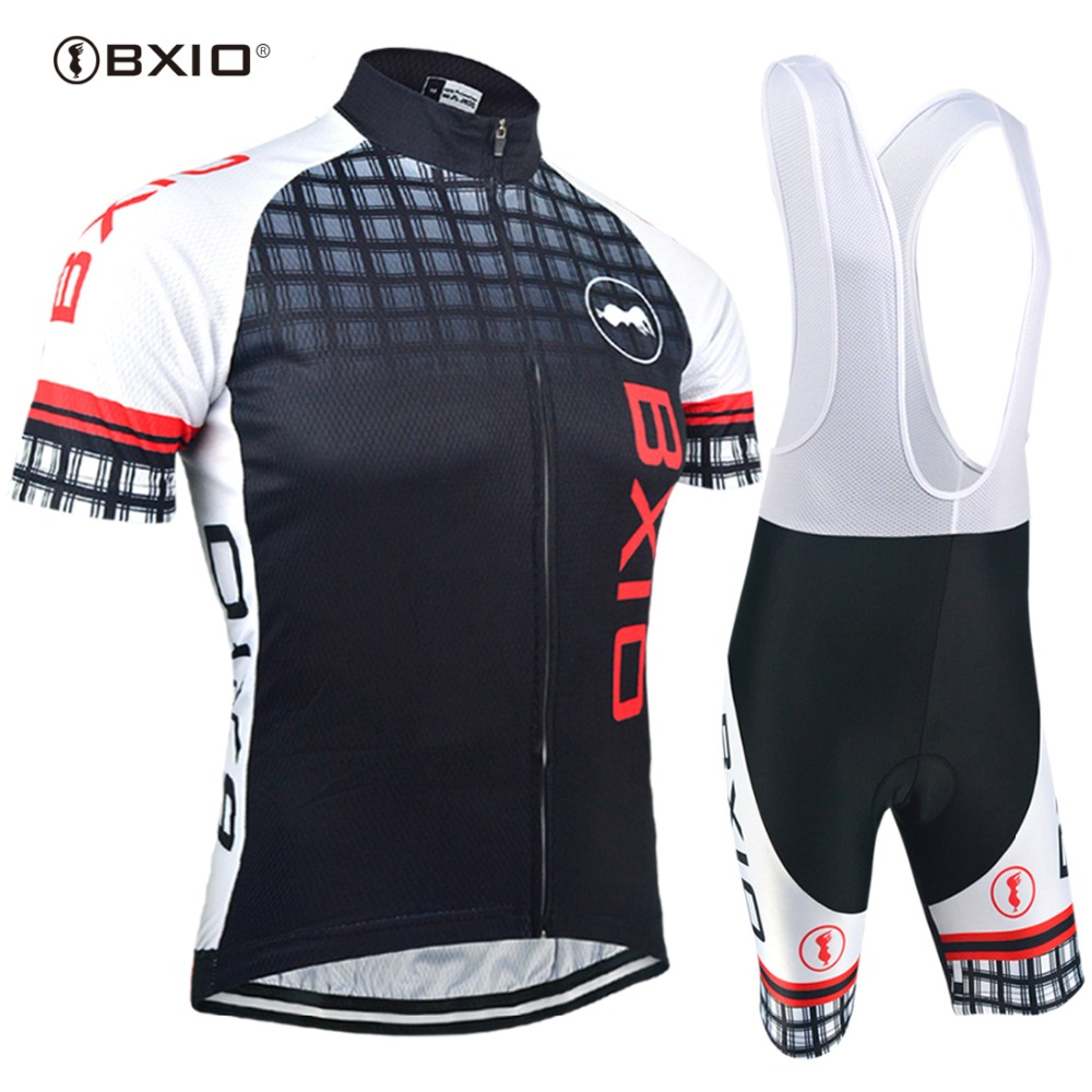 BXIO 2018 Pro Cycling Jersey Sets Outdoor Men Cycle Jerseys Short Sleeves Bicycle Clothes Cool Breathable Quipacion Ciclismo 012