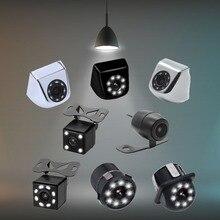 Auto Videocamera vista posteriore 4/8 LED Night Vision Telecamera di Retromarcia Parcheggio per Automobili Monitor CCD Impermeabile 170 Gradi telecamera di back-up