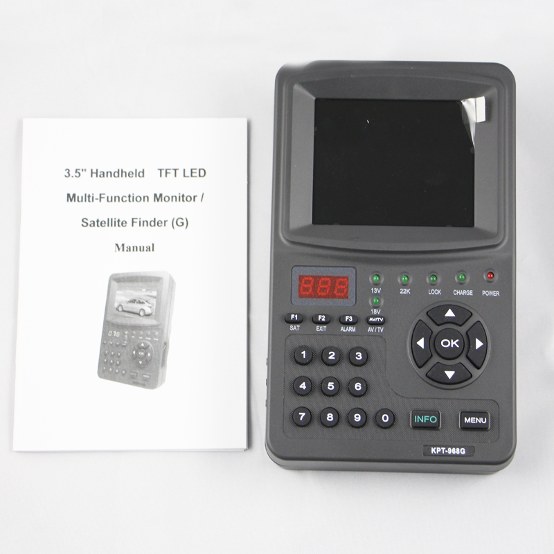 Digital Satelite Finder  Dvb-s/s2 Buscador Alta Calidad For TV Shows Test  Radio Monitoring Function