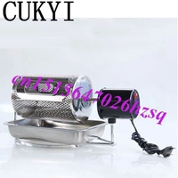 Electric Stainless Steel Home Coffee Roaster With Thermostat And With Hole Design Kitchen