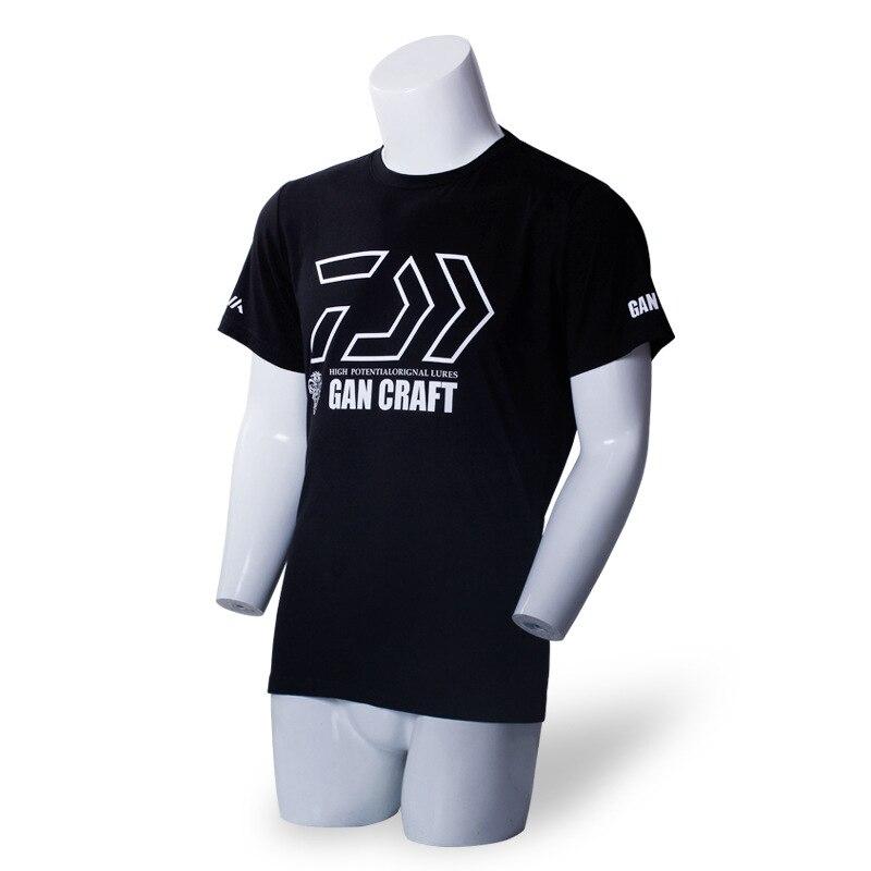 2018 Nuovo Daiwa Pesca T-Shirt da Uomo in Cotone All'aperto Idrofobo Anti-fouling Impermeabile Girocollo Uomo Abbigliamento Pesca M-4XL