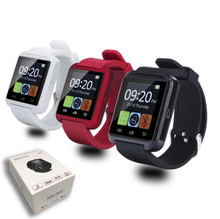 Bluetooth smart watch smartwatch mtk freisprech digitalen-uhr sport armband armband für android-handy samsung pk u8