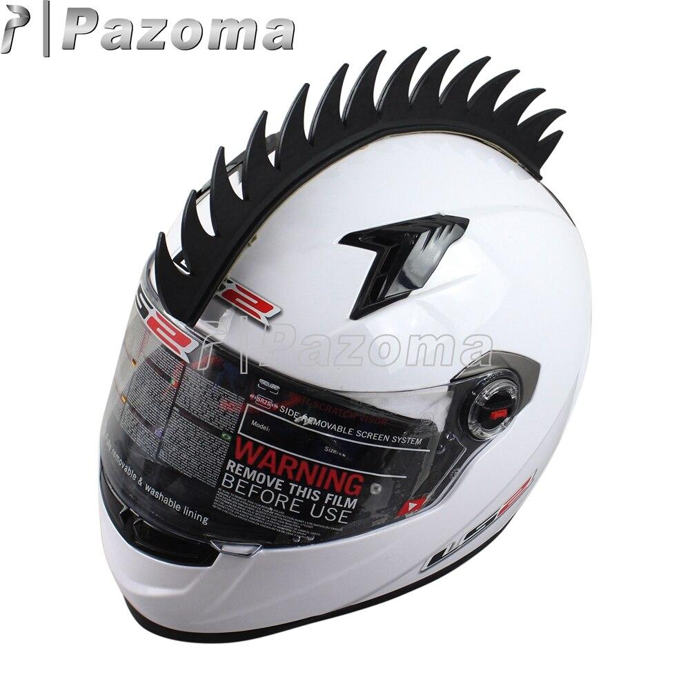 Aliexpress com beli sepeda motor helm decals stiker spike strip bmx mohawk balap motor helm sticker karet 3 m merah hijau hitam orange biru dari handal