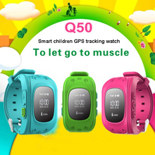 Q50 Smart Children GPS Tracking Watch SOS Call SIM Card for Android IOS Bluetooth Kids Smartwatch Waterproof Sport Bracelet