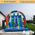 Colorful Double Lane Slide Inflatable Slides Game For Children's