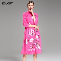 2017 Autumn Winter Fashion Collection Women Plus Size Lace Maxi Dress 4XL 3XL 2XL Vestidos Feminino