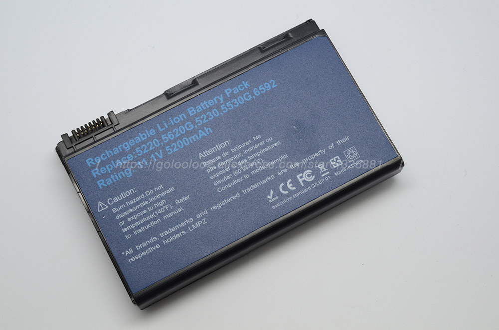 Baterias de Laptop 5520 5530 5710 Tipo : Li-ion