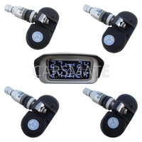 SPY Wireless Car TPMS With 4 Internal Sensors & Angle Adjustable LCD Display Shipping In 24 Hours