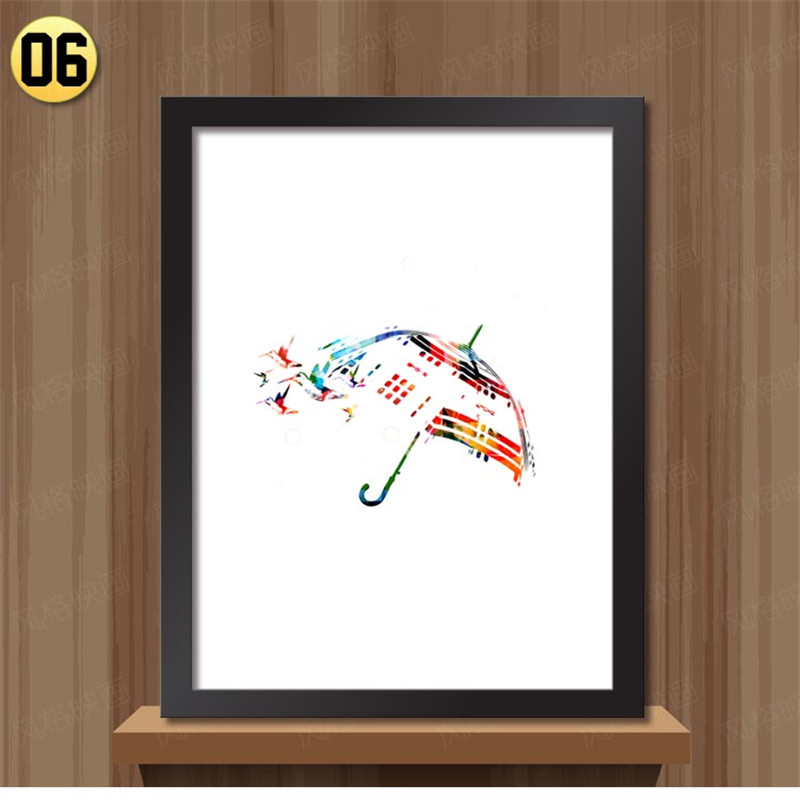Aliexpress.com : Buy Framed wall art canvas painting on the wall ...