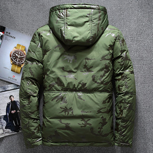 Image 5 - New Winter Warm White Duck Downs Jacket Men Outwear Thick Snow Parkas Hooded Coat Male Casual Thermal Windproof Downs Jacket Men