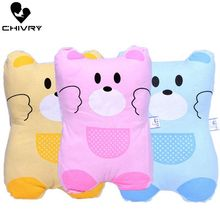 Chivry New Baby Shaping Pillow Newborn Cartoon Bear Baby Sleeping Support Head Cushion Shape Cute Crown Infant Pillow lokyee 6119 cute bear pattern infant baby avoid flat position pillow light ivory