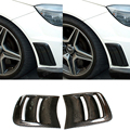 High quality Carbon Fiber Car Front Fender Vent mask for Mercedes Benz W204 C63 AMG  (Fit 2008-2011 C63 AMG bumper only)