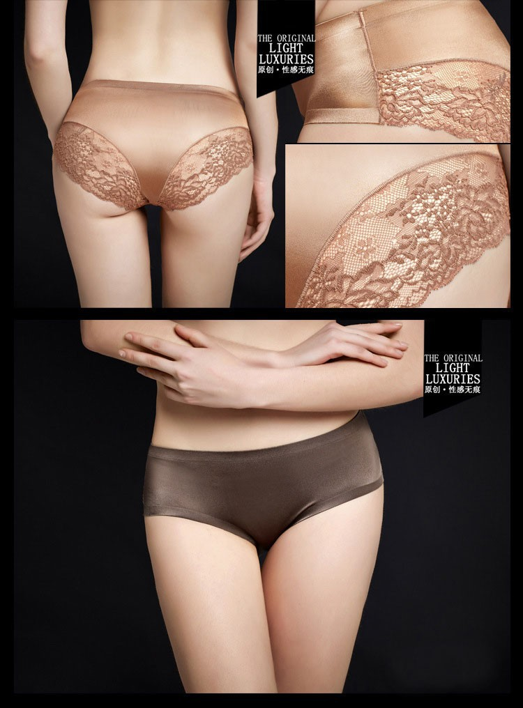 Women's Lace Panties, Seamless Briefs, Underwear, Women Lingerie, Sexy Underwear 16