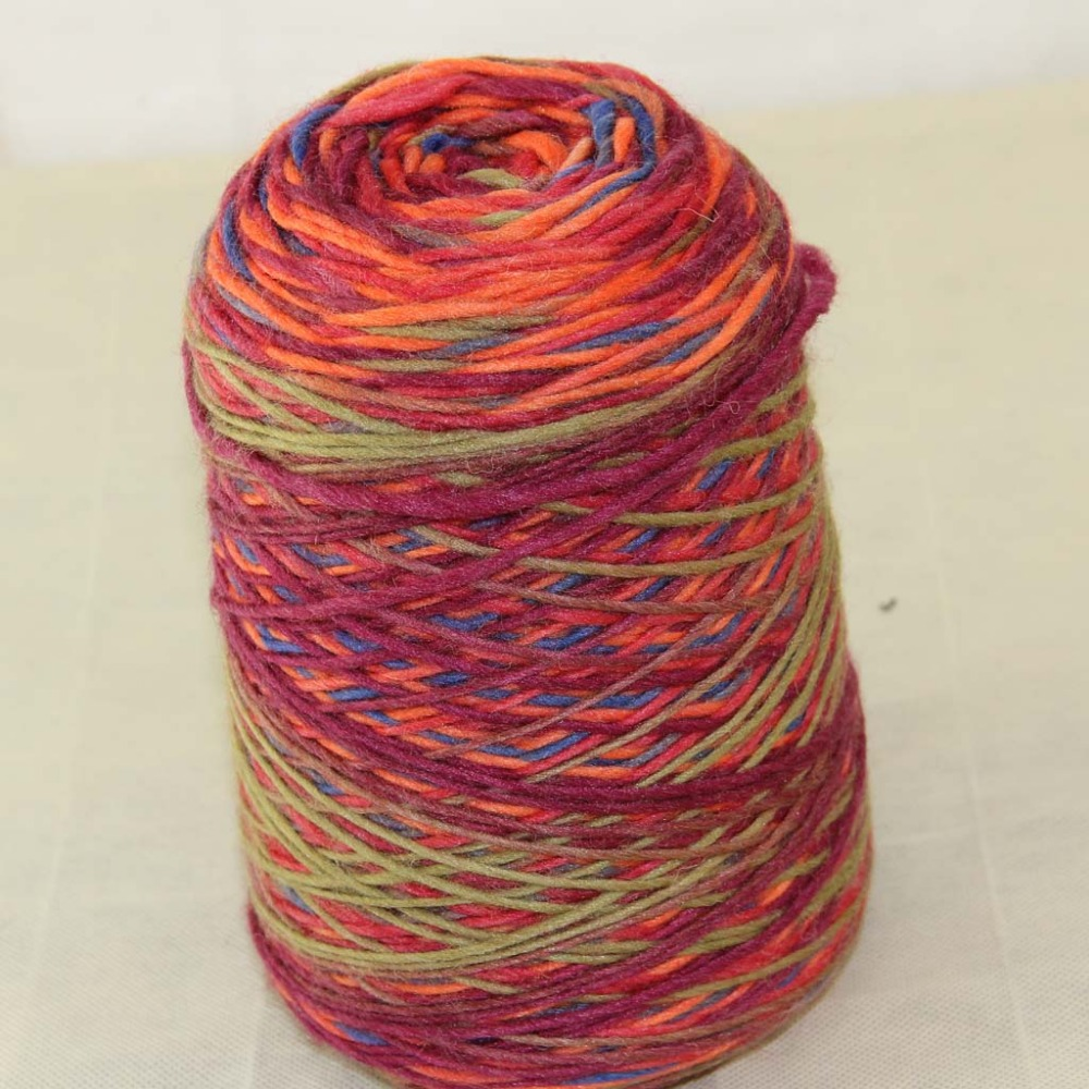 Lot of 1 Pieces x 500g Hand Coarse Knitting Scores wool yarn Army Green  Blue Burgundy Orange 522-5821 bd1d59670