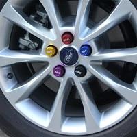 Free Shipping 20Pcs Car Wheel Screw Protection Cap Tire Change Decorative Cover Dustproof Rust Cap Aluminum Alloy Nut Cover