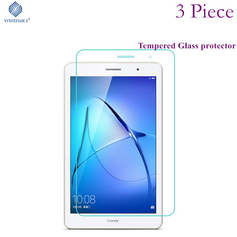 3piece For Honor Play Pad 2 8.0 Glass Films For Huawei MediaPad T3 8.0 KOB-L09 KOB-W09 Tempered Screen Guard