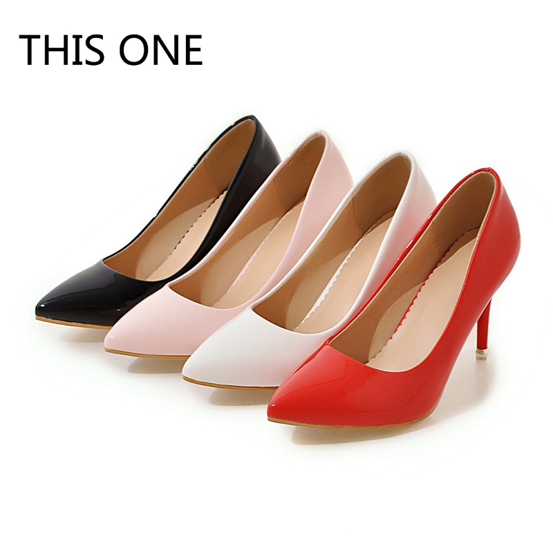 Venta caliente 2018 nuevos zapatos de tacón alto Mujer bombas zapatos de boda  moda mujer sexy clásico negro Rosa Blanco tacones rojos 007e9d2732d2