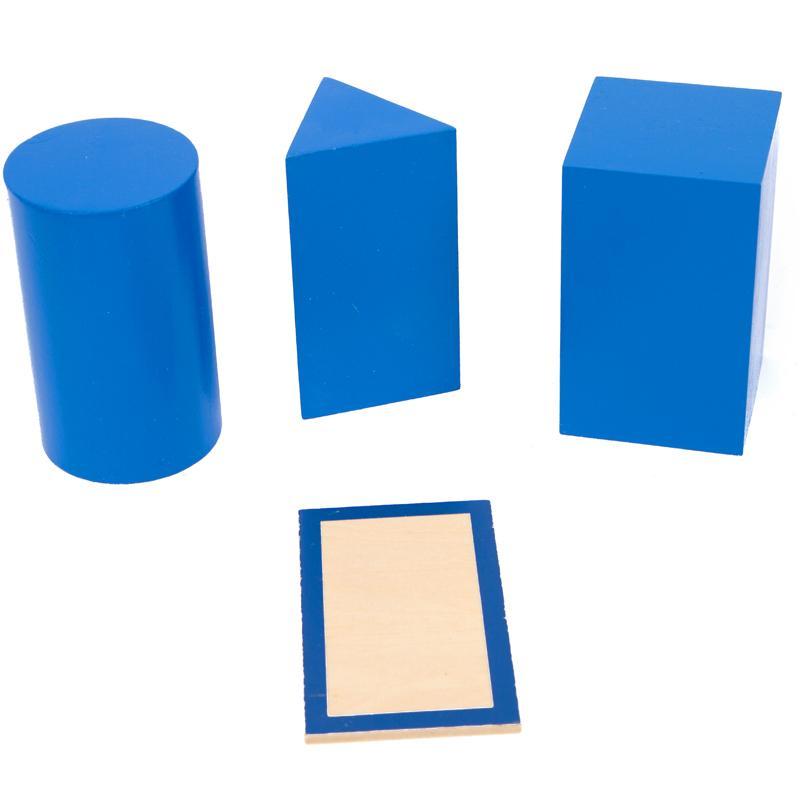Montessori matériaux sensoriels géométrique solides Montessori jouets éducatifs d'apprentissage pour les tout-petits Juguetes Brinquedos MG1264H - 3