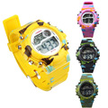 Montre Femme 2016 Boys LED Alarm Date Clock Mens Silicone Digital Watches Men Multi-functional Wrist Watch Hours Wholesale